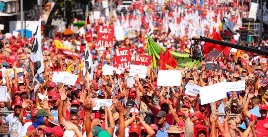 Solidarität mit Venezuela!